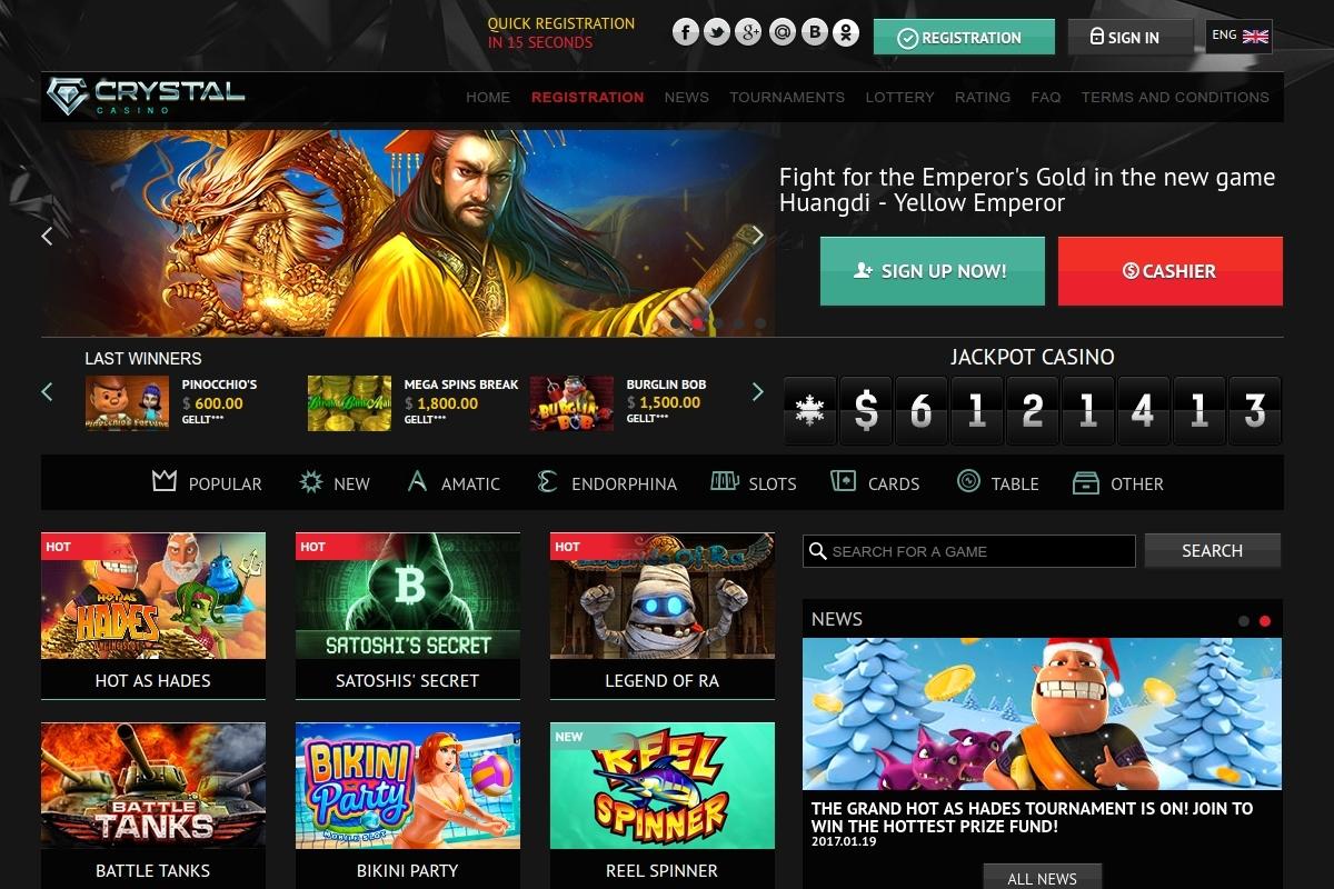 crystal casino online