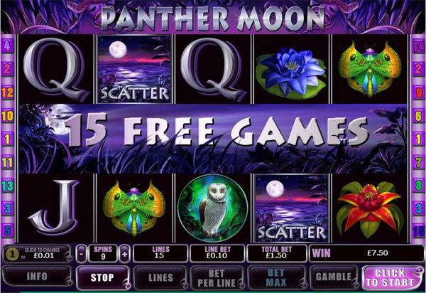 игровой автомат panther moon novomatic картинки