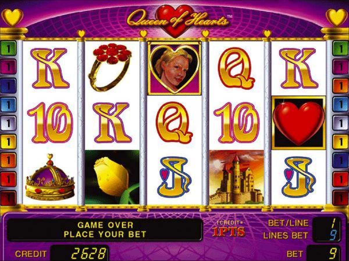 queen of hearts играть бесплатно